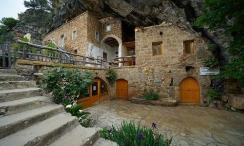 Zdjecie LIBAN / Bcharre / Qadisha Valley / Klasztor