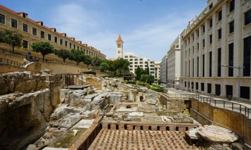 Zdjęcie LIBAN / Bejrut / . / Rzymskie łaźnie