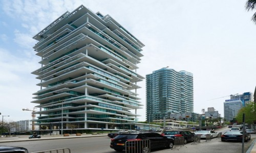 Zdjecie LIBAN / Bejrut / . / Z betonu, stali i szkła