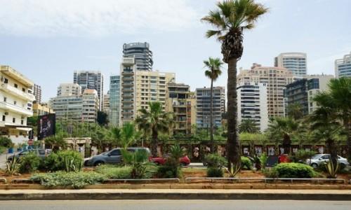 Zdjecie LIBAN / Bejrut / . / Osiedle nad promenadą