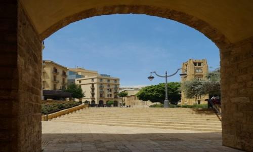 Zdjecie LIBAN / Bejrut / . / Widok na Plac Gwiazdy