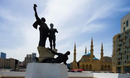 Zdjecie LIBAN / Bejrut / . / Plac Męczenników
