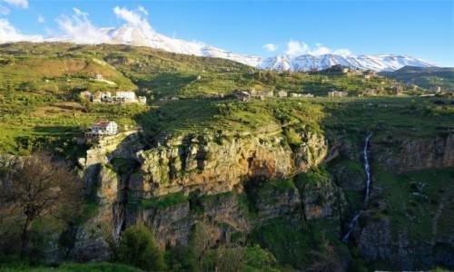 LIBAN /  Liban Północny / Bsharre /  Dolina Kadisha
