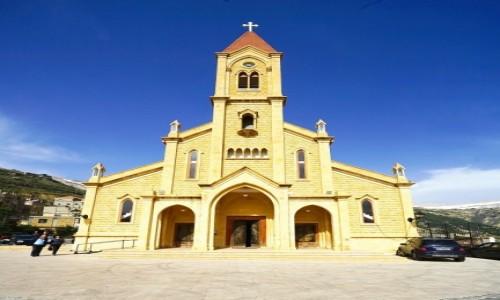 Zdjecie LIBAN / Dolina Kadisha / Bcharre / Our Lady of Bcharri
