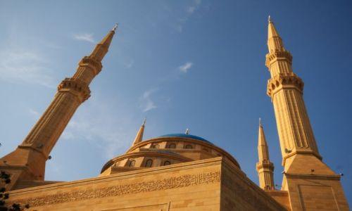Zdjecie LIBAN / brak / beirut big meczet / Beirut