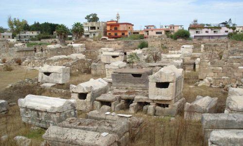 Zdjecie LIBAN / Południowy Liban / Tyr (Sur) / Tyrska nekropolia