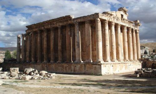 LIBAN / Środkowy Liban / Baalbek / Świątynia Bachusa