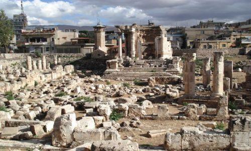 Zdjęcie LIBAN / Środkowy Liban / Baalbek / Świątynia Westy