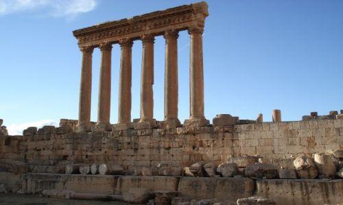 Zdjęcie LIBAN / Środkowy Liban / Baalbek / Świątynia Jupitera
