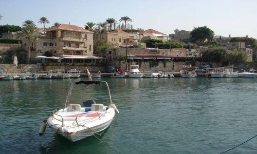 Zdjęcie LIBAN / Północny Liban / Byblos (Jbail) / Port w Byblos