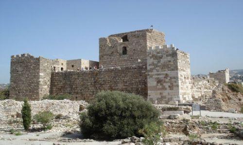 LIBAN / Północny Liban / Byblos (Jbail) / Zamek Krzyżowców