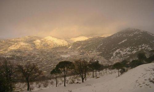 Zdjecie LIBAN / Pd Lb / Jazine / zima w Libanie