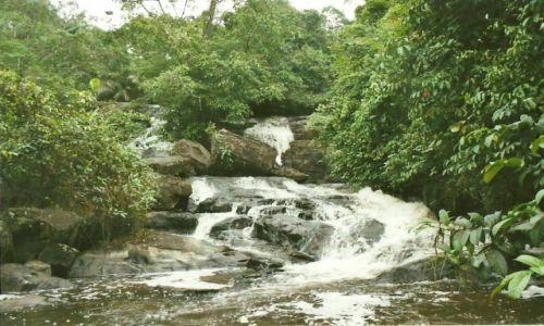 Zdjęcie LIBERIA / Lofa / Phebe / Wodospad Kpatwe I