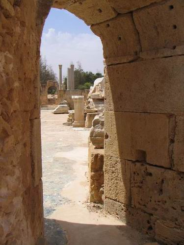 Zdjęcia: Leptis Magna, Trypolitania, Termy, LIBIA