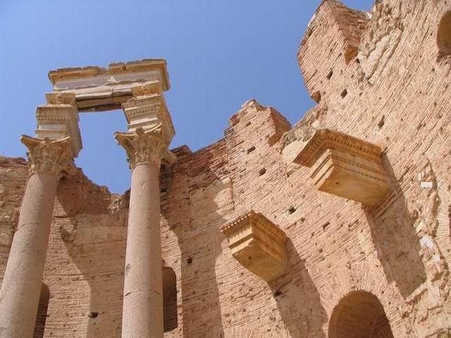 Zdjęcia: Lepits Magna, Trypolitania, Bazylika, LIBIA