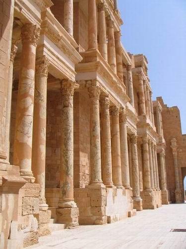 Zdjęcia: Sabrata, Trypolitania, Amfiteatr, LIBIA