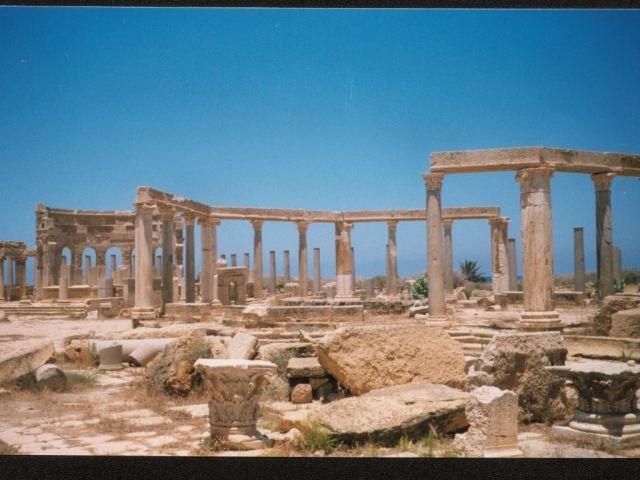 Zdjęcia: Leptis Magna, w rzymie nie ma lepszych, LIBIA