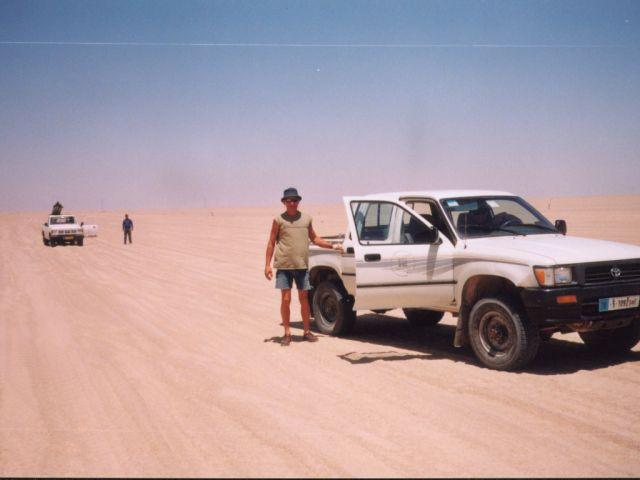 Zdjęcia: centralna Libia, Sahara, w drodze, LIBIA