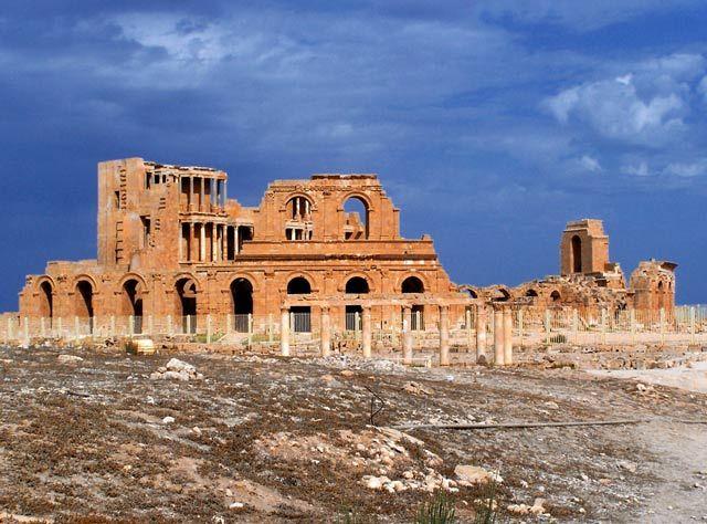 Zdjęcia: Sabratha, Dawne cywilizacje1, LIBIA