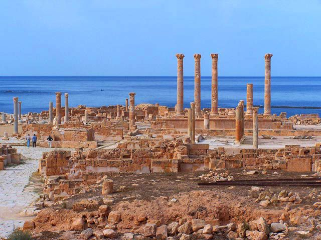 Zdj�cia: Sabratha, Dawne Cywilizacje2, LIBIA
