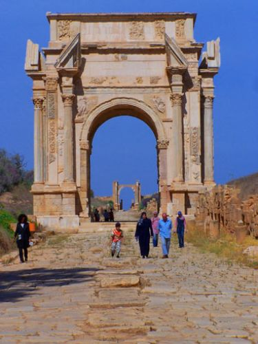 Zdj�cia: Leptis Magna, Troch� starej Libii9, LIBIA