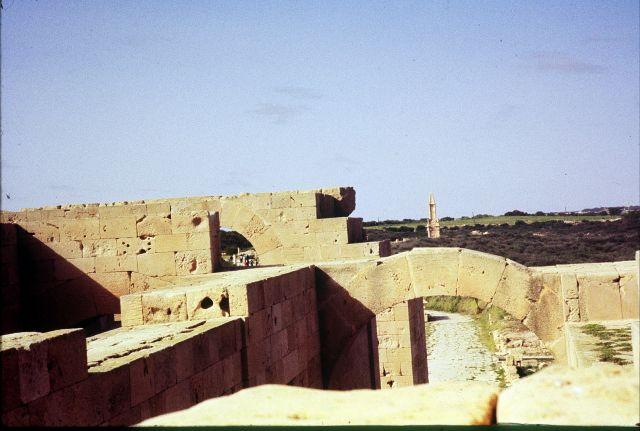 Zdjęcia: Laptis Magna, trypolitania, widok na okolice, LIBIA