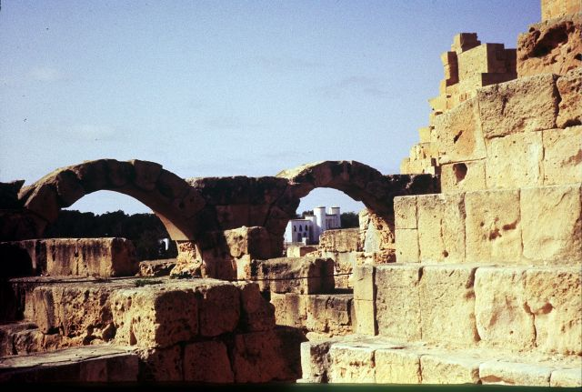 Zdjęcia: Laptis Magna, trypolitania, LEPTIS MAGNA, LIBIA
