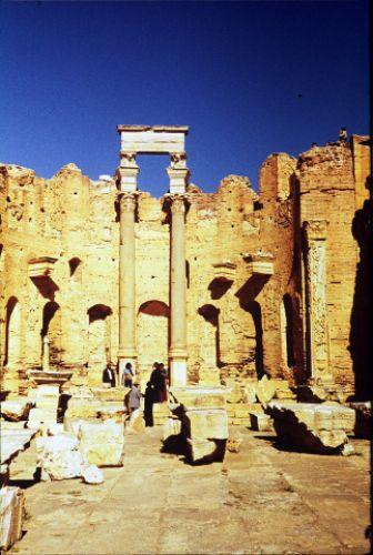 Zdjęcia: Laptis Magna, trypolitania, Forum, LIBIA