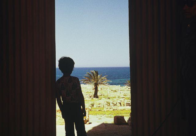 Zdjęcia: Laptis Magna, trypolitania, widok na morze, LIBIA