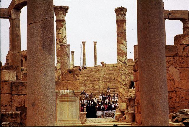 Zdjęcia: Sabratha, trypolitania, zebranie, LIBIA