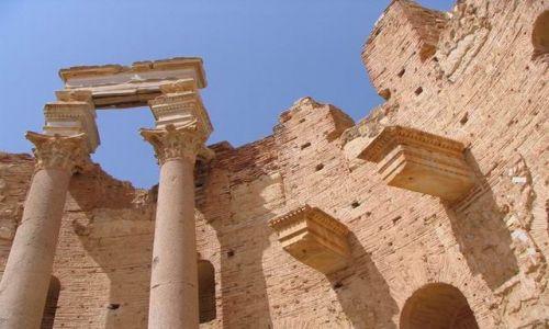 Zdjecie LIBIA / Trypolitania / Lepits Magna / Bazylika