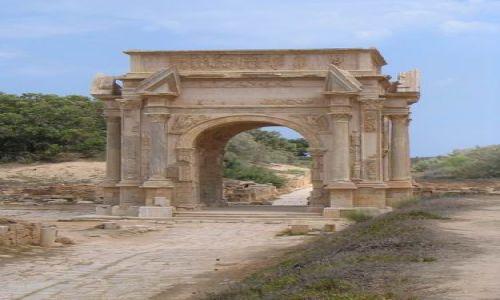 Zdjecie LIBIA / Trypolitania / Leptis Magna / Łuk Septymiusza Sewera
