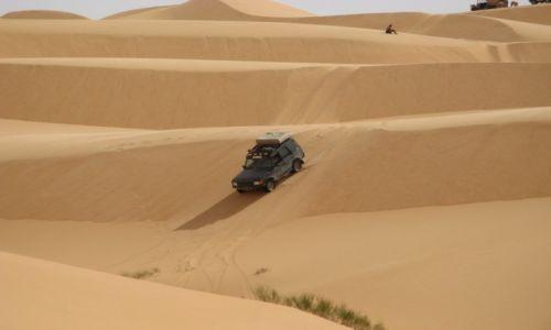 Zdjecie LIBIA / Murzuk / Sahara / Morze piasku