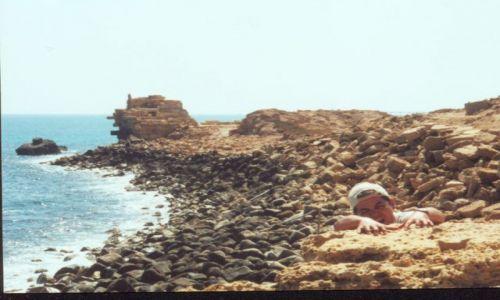 Zdjęcie LIBIA / brak / Leptis Magna / spaaaaadam