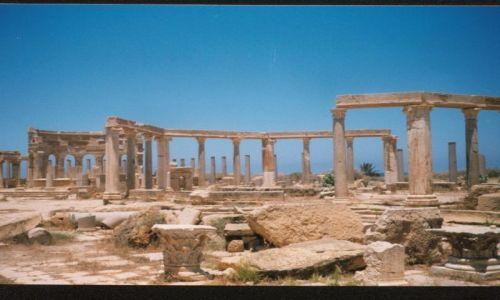 Zdjecie LIBIA / brak / Leptis Magna / w rzymie nie ma lepszych