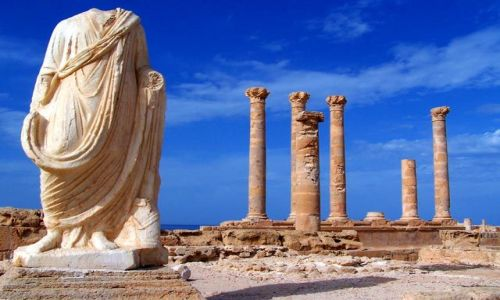 Zdjęcie LIBIA / brak / Sabratha / Dawne Cywilizacje4