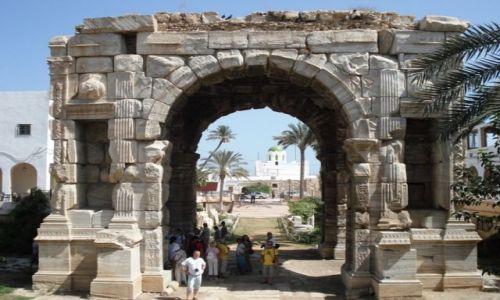Zdjęcie LIBIA / brak / TRIPOLIS / Łuk triumfalny Marka Aureliusza