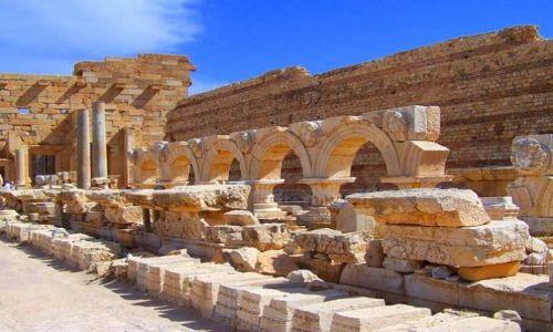 LIBIA / brak / Leptis Magna / Trochę starej Libii1