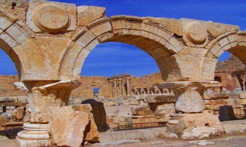 Zdjęcie LIBIA / brak / Leptis Magna / Trochę starej Libii2