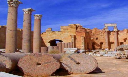 Zdjęcie LIBIA / brak / Leptis Magna / Trochę starej Libii3