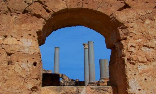 Zdjęcie LIBIA / brak / Leptis Magna / Trochę starej Libii4