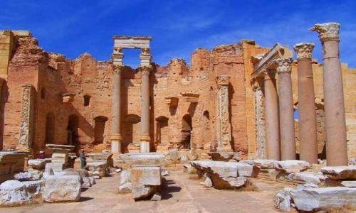 Zdjęcie LIBIA / brak / Leptis Magna / Trochę starej Libii5