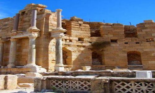 Zdjęcie LIBIA / brak / Leptis Magna / Trochę starej Libii7