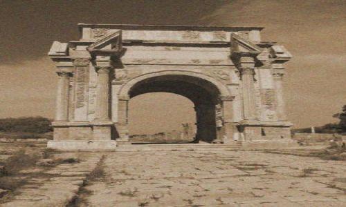 Zdjęcie LIBIA / brak / Leptis Magna / Trochę naprawdę starej Libii8