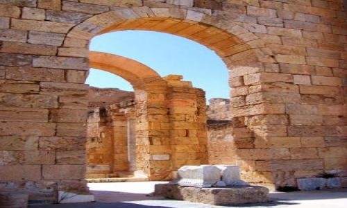 Zdjęcie LIBIA / brak / Leptis Magna / Trochę starej Libii10