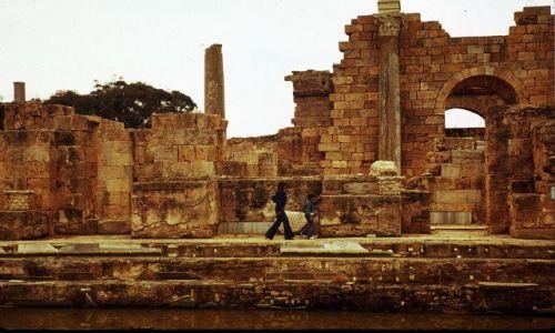 Zdjęcie LIBIA / trypolitania / Laptis Magna / termy