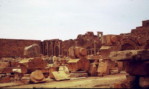 Zdjęcie LIBIA / trypolitania / Laptis Magna / forum