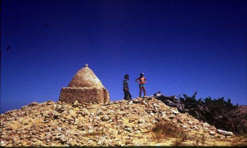 Zdjęcie LIBIA / trypolitania / Laptis Magna / marabut