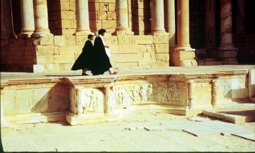 Zdjęcie LIBIA / trypolitania / Sabratha / odswiętna wizyta
