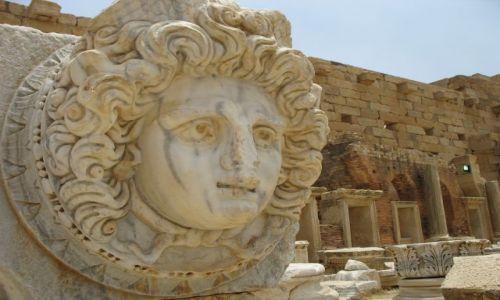 Zdjęcie LIBIA / Leptis Magna / Leptis Magna / Wciąż patrzy przez wieki